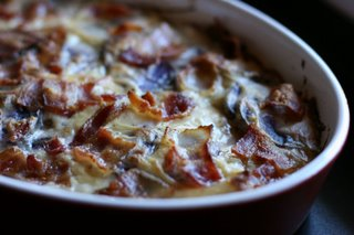 Bacon Potato Gratin