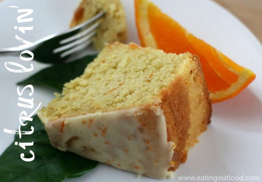 Orange Sour Cream Cake