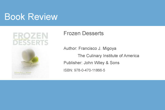 Book Review Frozen Desserts by Francisco J. Migoya