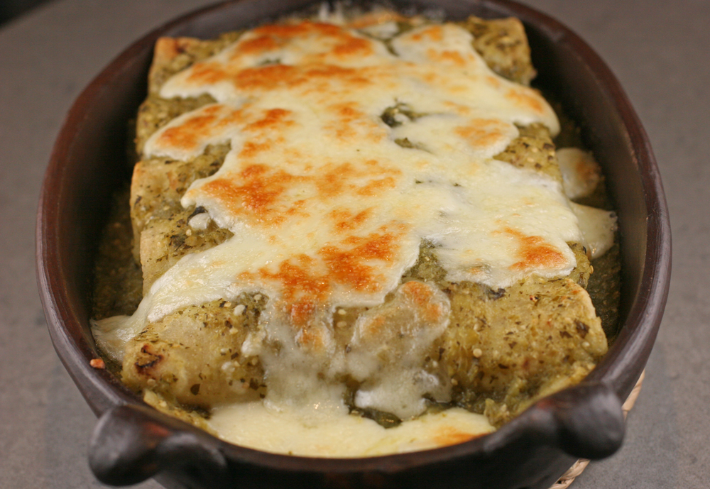 Mexican Enchiladas Verde
