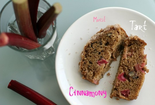Buttermilk Rhubarb Bread