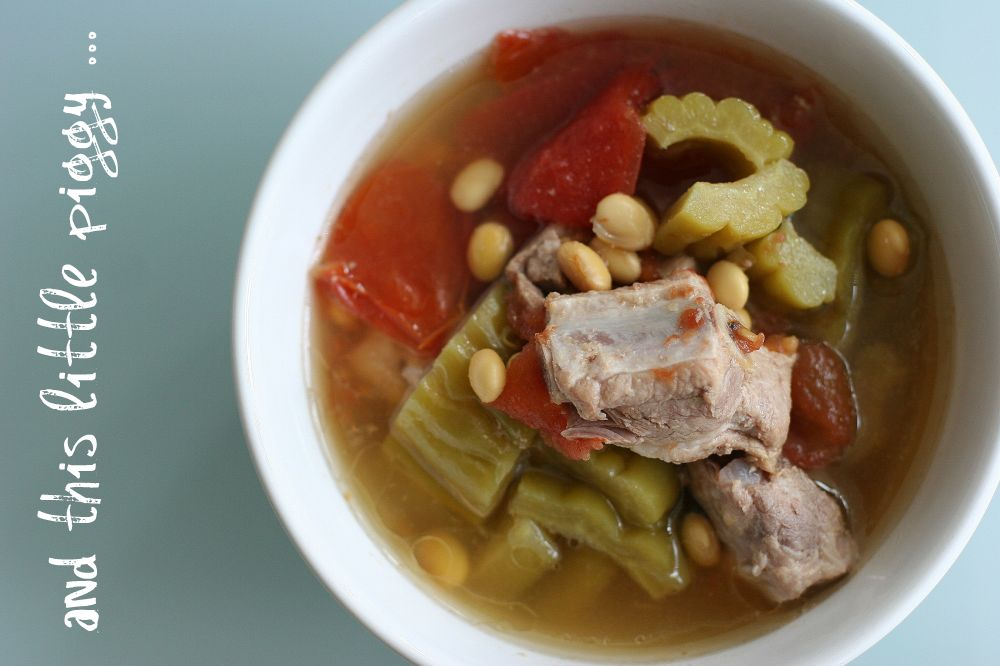 Bitter Melon & Pork Soup