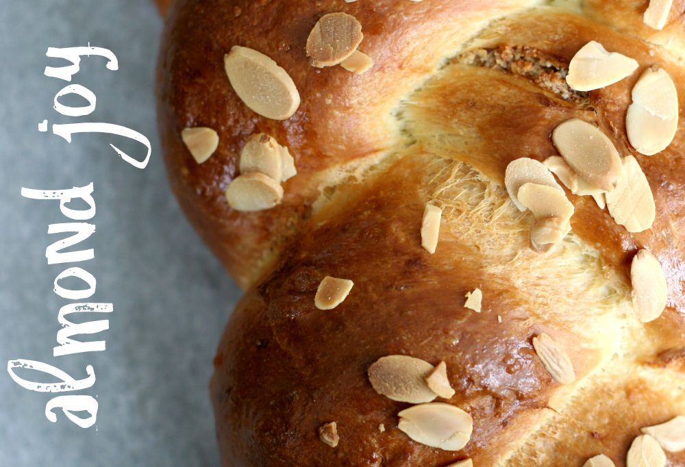 Braided Almond Brioche Bread