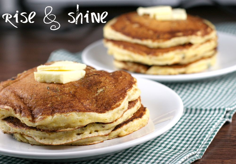 Buttermilk Cornmeal Pancakes, Griddle Cakes