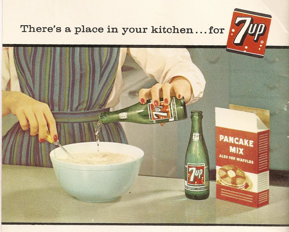 7-Up Baking Ad