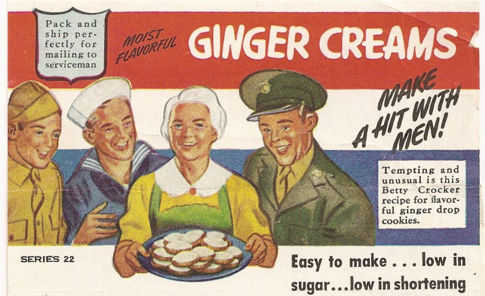Betty Crocker Ginger Creams Vintage Ad