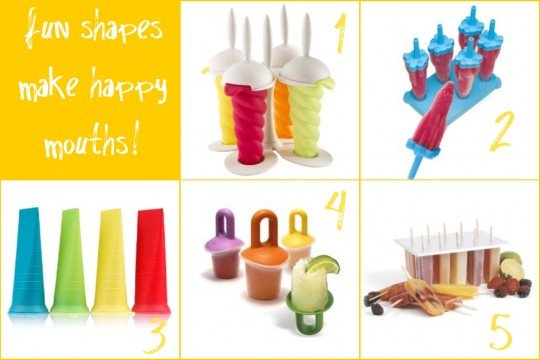 Popsicle Ice Pop Molds