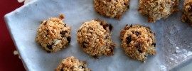 Easy Granola Macaroons Recipe